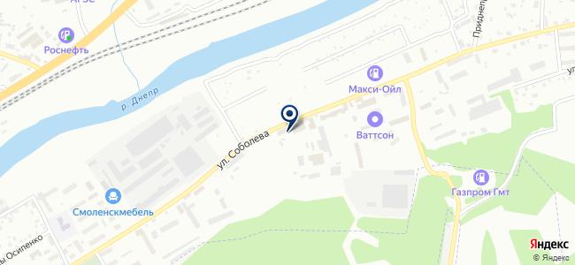 Автотехцентр №1 на карте
