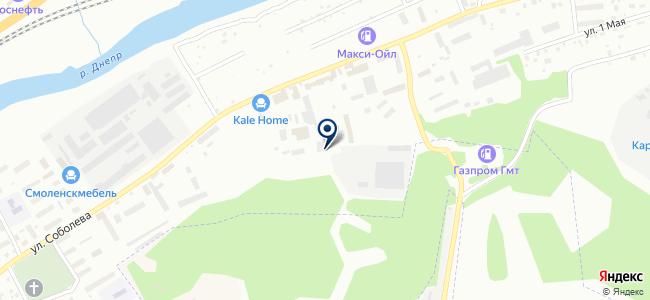 АркАвто на карте