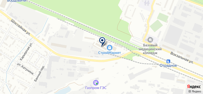 Магазин обоев и люстр на карте