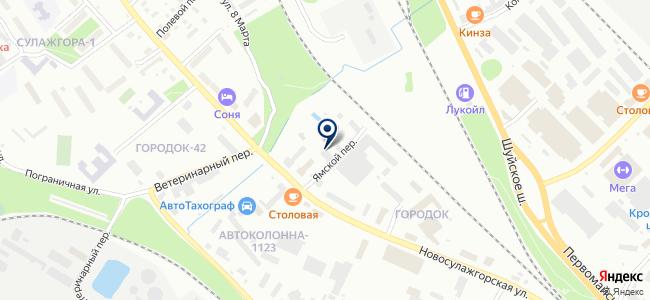 Бест-Авто на карте