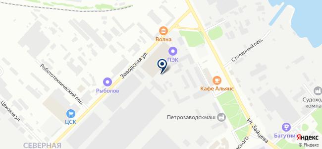 АВТОТРЕК на карте