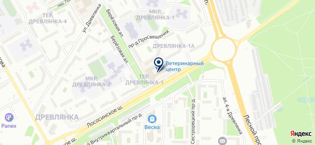 Магазин антенного оборудования и кабеля на карте