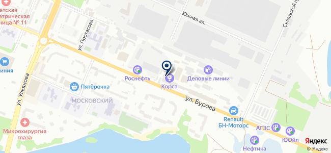 ЭТЛ, ООО на карте