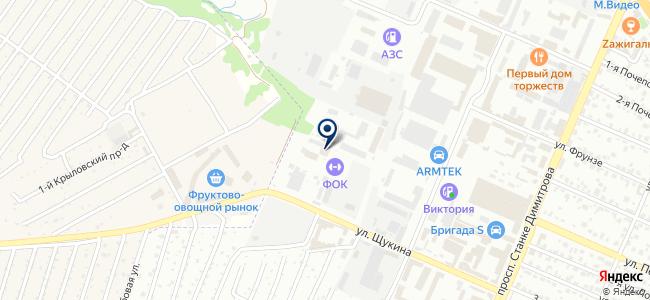 Строй-М на карте