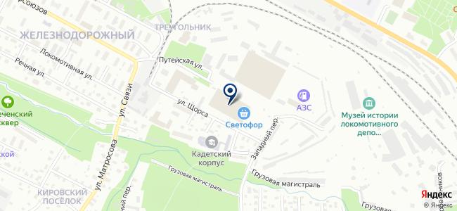 МегаВольт плюс на карте