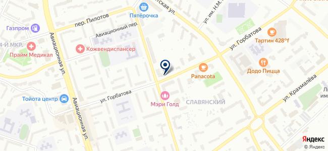 Ирида-Сервис, ООО на карте