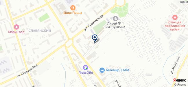 Техэлектро Запад, ООО на карте