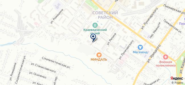 Мегастрой, ООО на карте