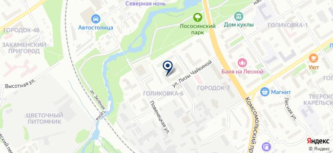Сертификационно-консультационный центр, ООО на карте