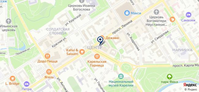 Восход, ООО на карте