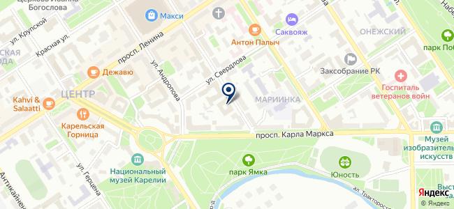 Энерготелеком на карте