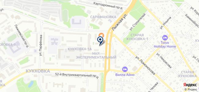 Городской транспорт, МУП на карте