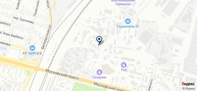Брянское городское пассажирское автотранспортное предприятие, МУП на карте