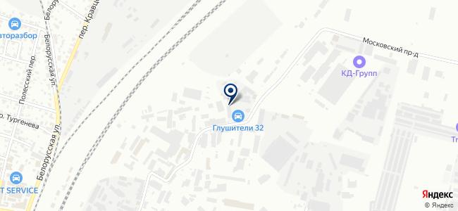 Константа, ООО на карте