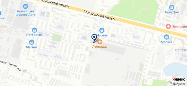 Технодом на карте