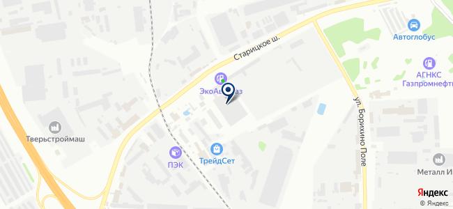 Светрон, торговая компания на карте