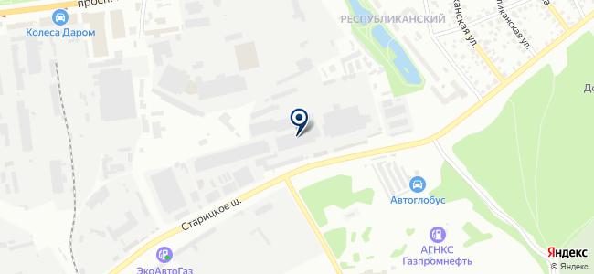 Хускварна, сервисный центр на карте