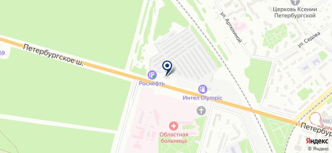 ЮТАС, автосервис на карте