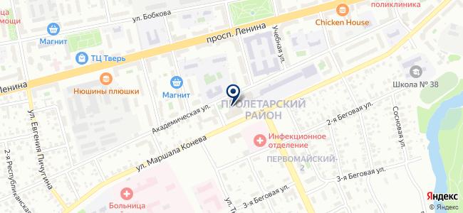 Профстрой, электромонтажная компания на карте