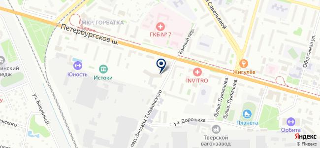 ИнтерПромАвтоматика, проектно-производственная компания на карте