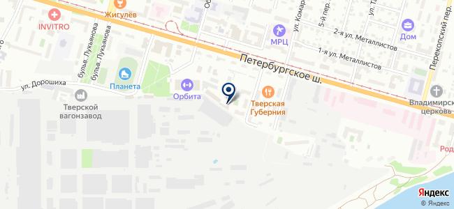 Арком, ООО на карте
