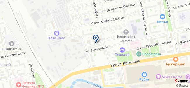 Автосервис, ИП Фролов М.Н. на карте