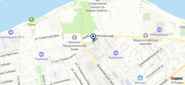 Магазин печей, жестяных изделий и люстр, ИП Иванов М.В. на карте