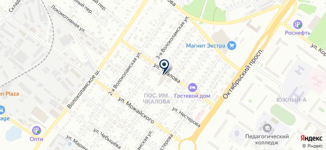 Южный, автотехцентр, ООО Атек Авто на карте