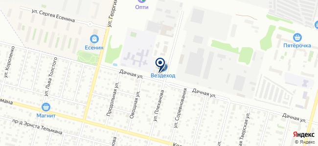 ТЭУС, производственная компания, ООО Тверские электронные устройства и системы на карте