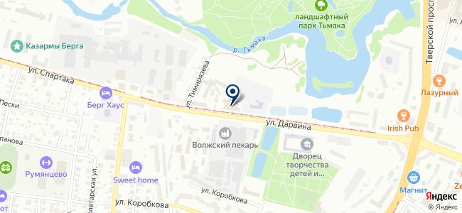 Викинг, специализированный магазин на карте