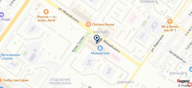 Свет, магазин электротоваров и лакокрасочных материалов на карте