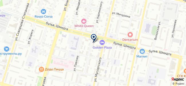 Калашниково, торговый дом на карте