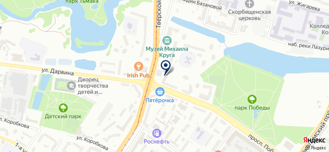Мир+М, ООО, торгово-монтажная компания на карте