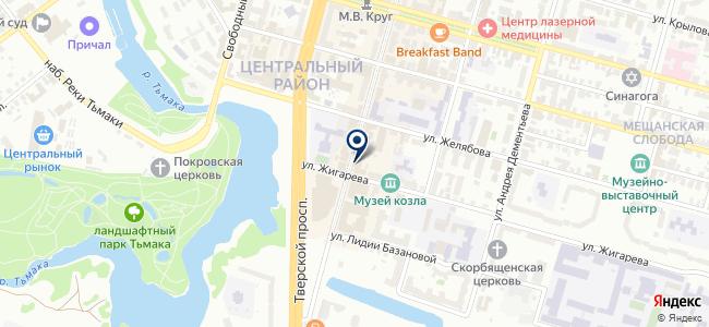 Атон, ООО, строительная компания на карте