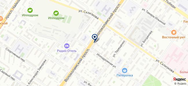 Молоток, торгово-сервисная компания на карте