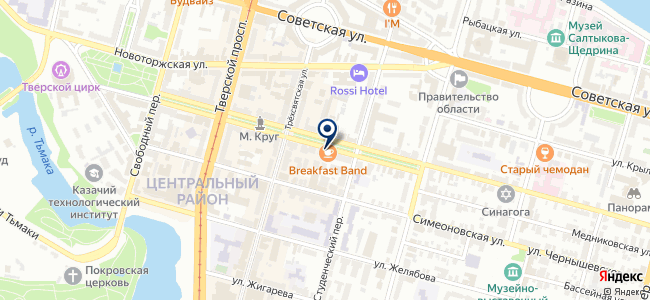 Техпорт на карте