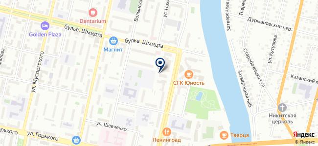 Сеть делового обслуживания, телекоммуникационная компания на карте