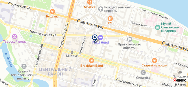 Ф1, ООО на карте