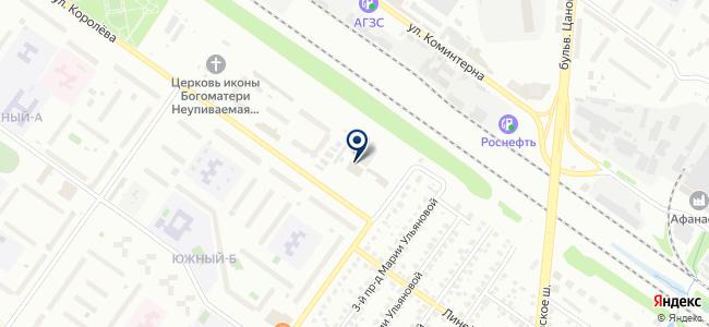 Связьприбор, производственная компания на карте