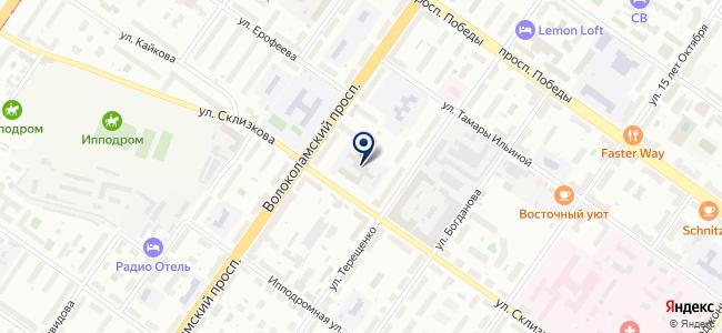 Электро CITY на карте