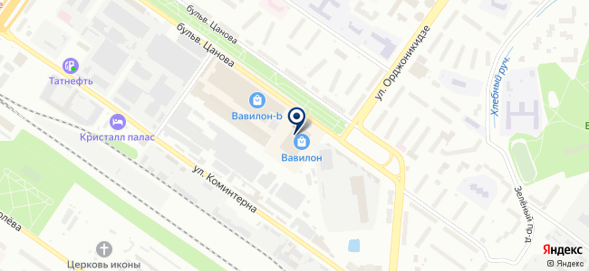 Микро-Схема на карте