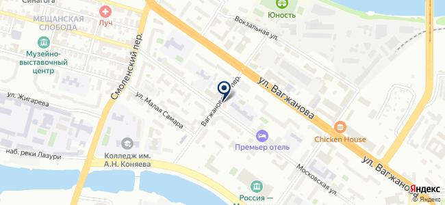 Бери, торговая компания на карте