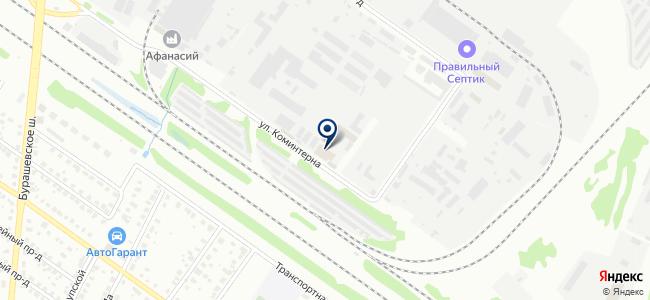 Тверьвнештранс, транспортная компания на карте