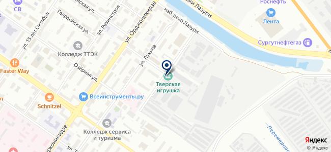 ВольтАмпер, торгово-монтажная компания на карте