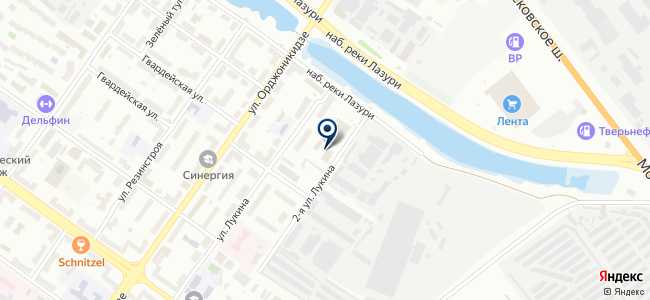 Тенакон, научно-производственная фирма на карте