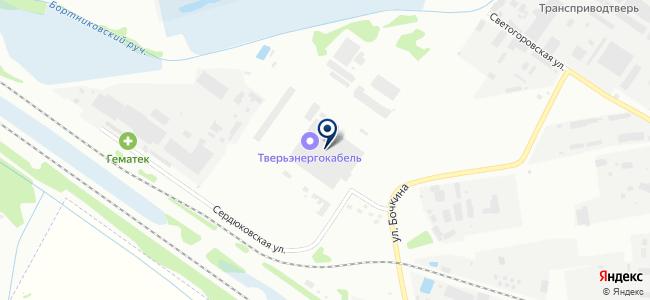 Тверьэнергокабель, торгово-производственная компания на карте