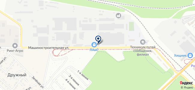 Орловский кабельный завод, ЗАО на карте