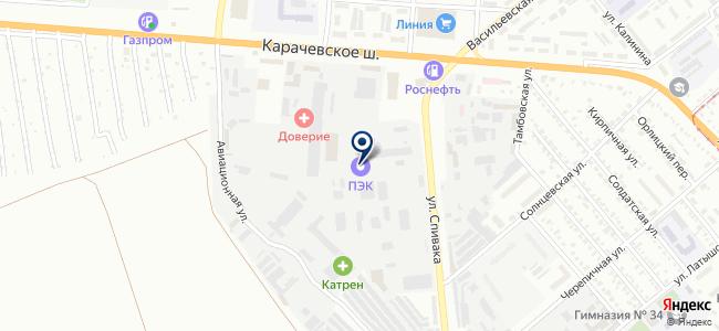 Орелсчетприбор, ЗАО на карте