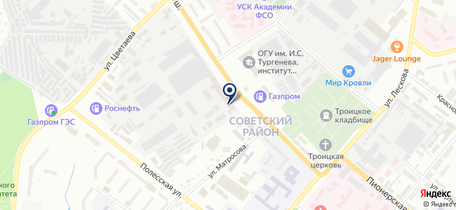 Госторг-Центр, ООО на карте