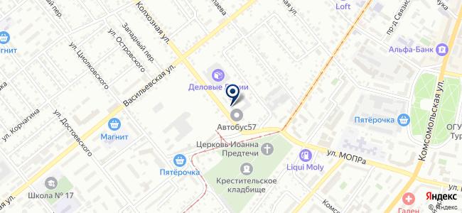КАСКАД, ООО на карте